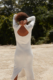 Frankie Knit Dress - White