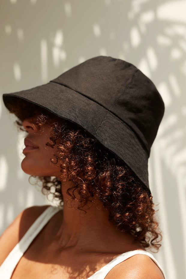 Small Bucket Hat - Black