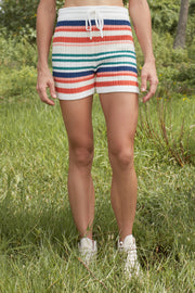 BELEN SHORT - RETRO STRIPE - YVES STRIPE