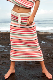 MARA SKIRT - RETRO STRIPE