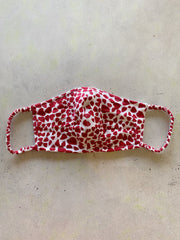 Golden State Red Heart Mask Casing
