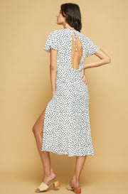 PASO DRESS - POLKA STROKE - INK