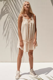 Savannah Mini Dress - Cream
