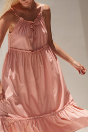 Ember Maxi Dress - Powder Rose