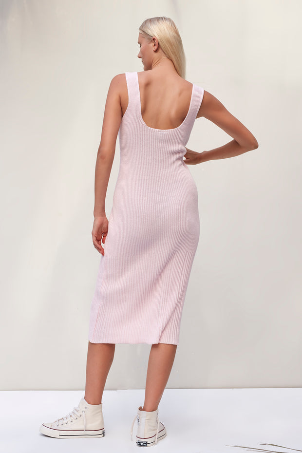 Karlie Dress - Ice Pink