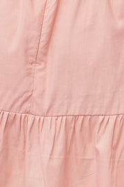 Joanna Mini Skirt - Powder Rose
