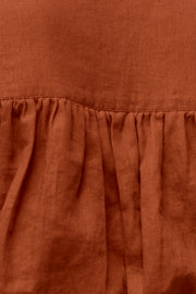 Parker Wrap Top - Terracotta