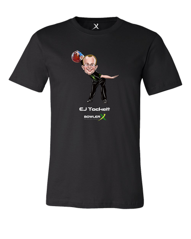 E. J. Tackett Caricature Tshirt