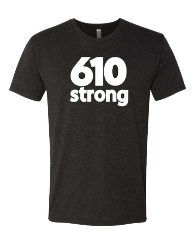 Lit Graphics 610 Strong Tri-Blend Tshirt