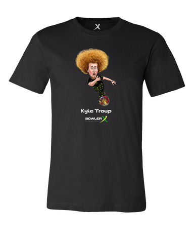 Kyle Troup Caricature Tshirt