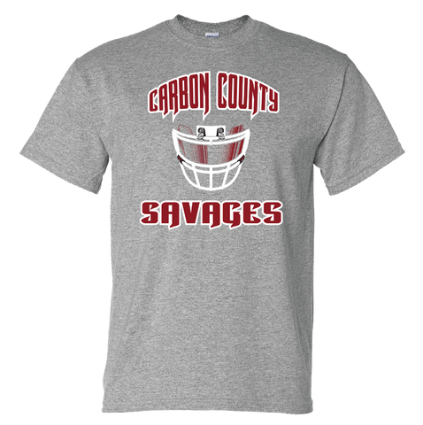 Carbon Country Savages Facemask Tshirt