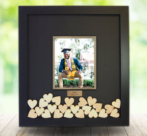 Graduation Celebration - Drop Box Frame with 5x7 Photo Opening