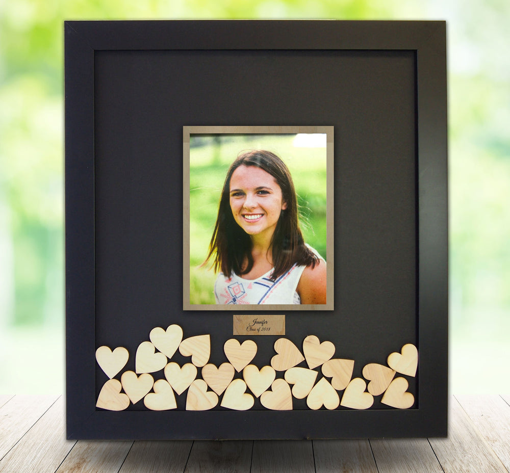 Graduation Celebration - Drop Box Frame with 8x10 Photo Opening