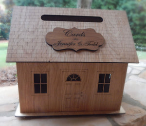Personalized - Wedding Card Box