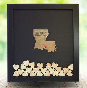 Drop Box Frame with Louisiana Wooden Insert