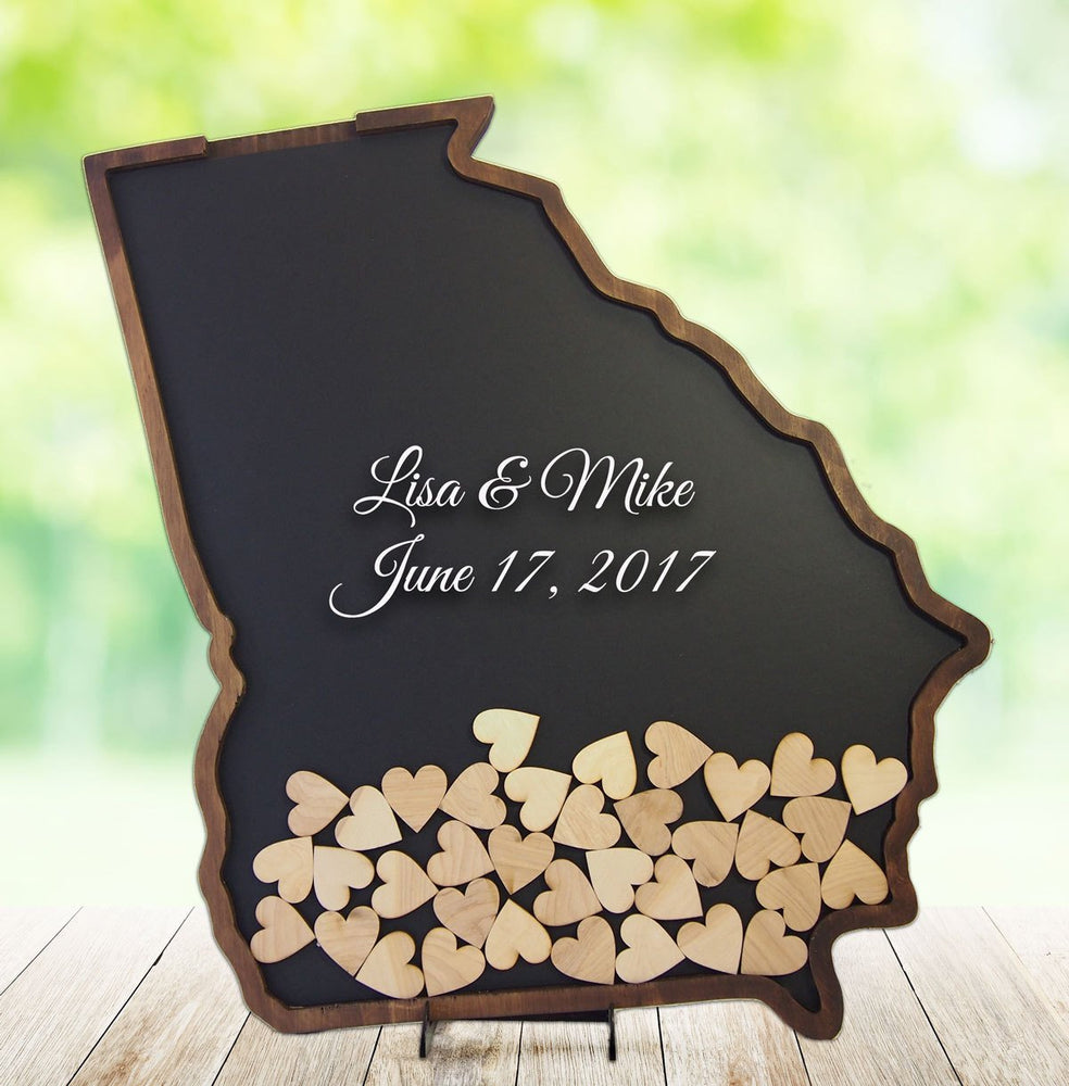 Georgia Wedding Drop Box Frame