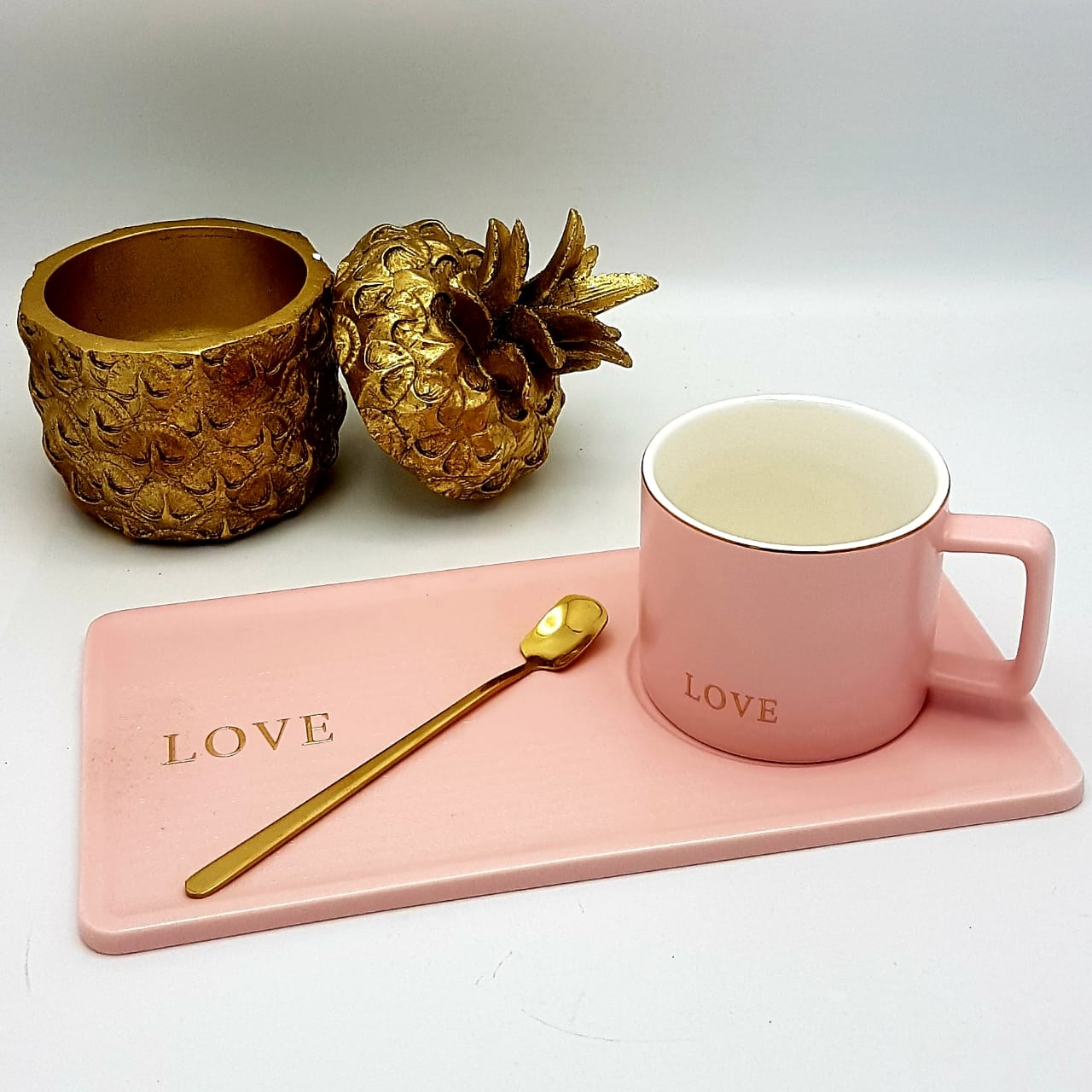 """Trust"" ""Love"" & ""Smile"" Cup Set"