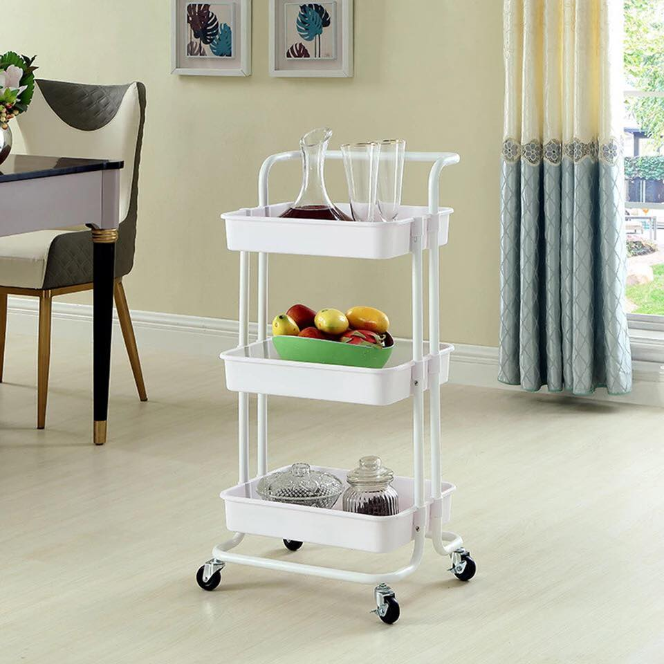 Trolley Storage Rack (3-Tier)