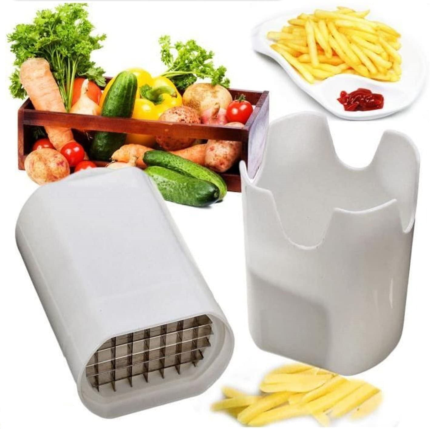 Fresh french fries cutter/chipper