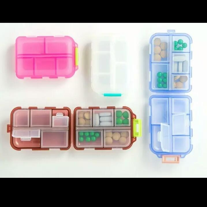 Portable Medicine Drug Pill Box (10)