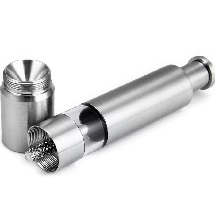 Manual Thumb push Pepper Mill