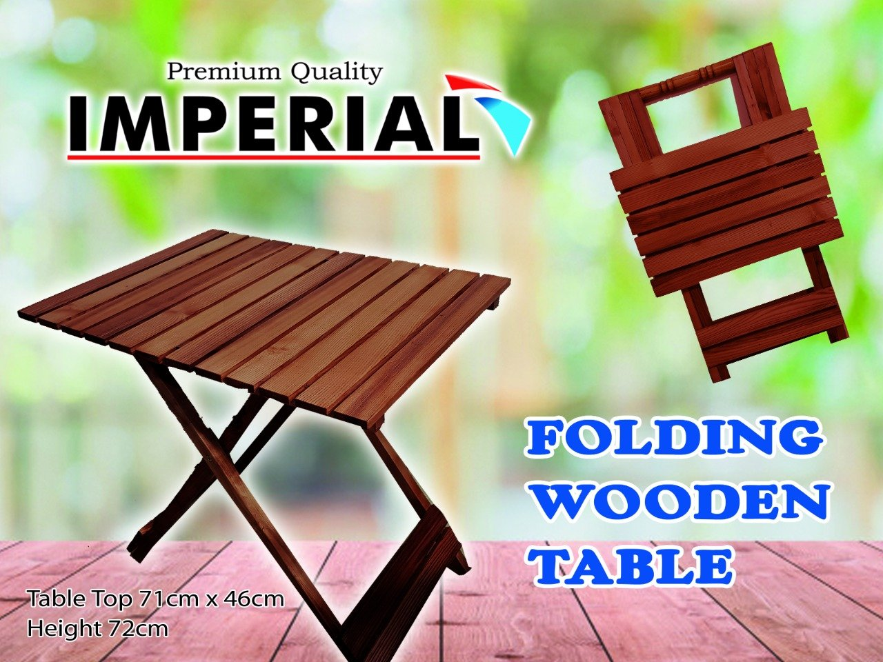 Coffee table Foldable Wooden Table