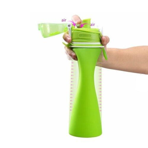 Silicone Fold able Sports Water Bottle - 750ML