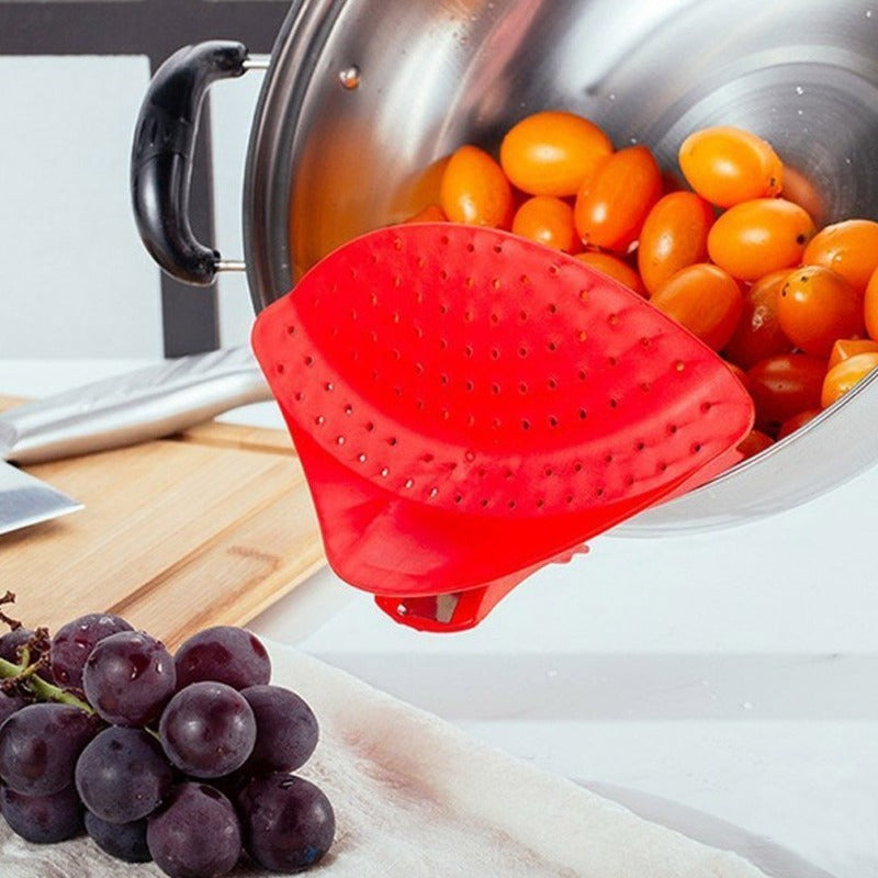 Clip-On Strainer