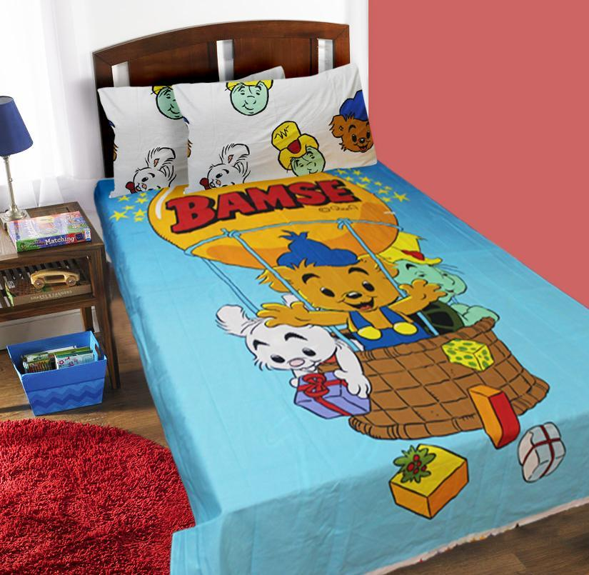 Single Kids Bed Sheet - BAMSE