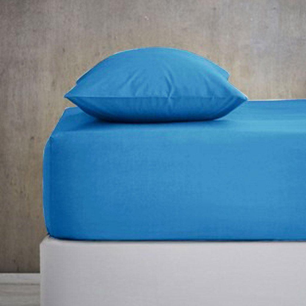 Fitted Sheet - With Pillow Covers - King Size