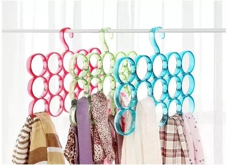 Crystal Holes Scarf Hangers