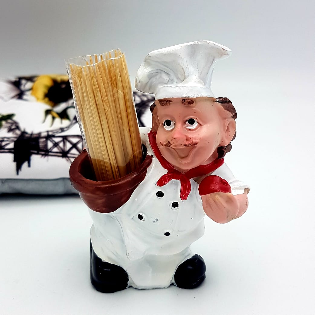 Chubby Chef (Toothpick's Holder Style)