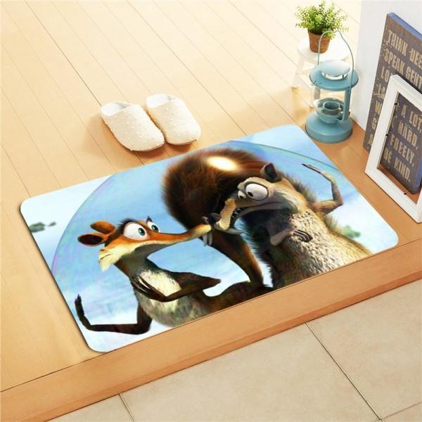 Kids Foot Mat - Squirrel