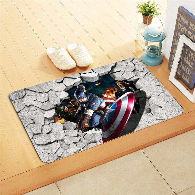 Kids Foot Mat - Justice League
