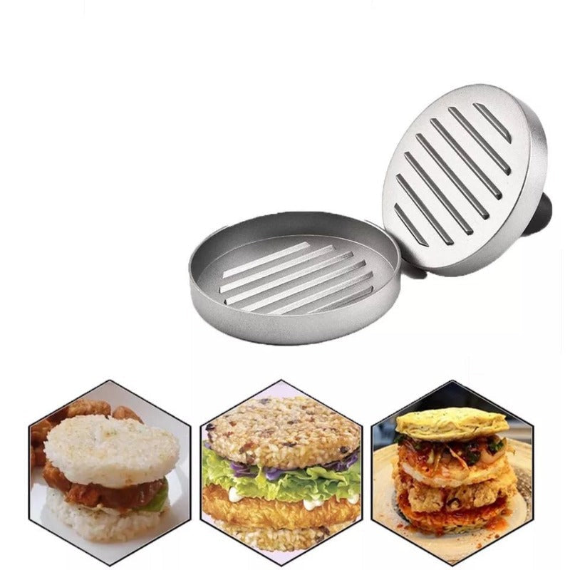 meat press Heavy Hamburger Press Burger Meat Beef Grill Patty Maker Mould Kitchen BBQ Cooking Tools Home