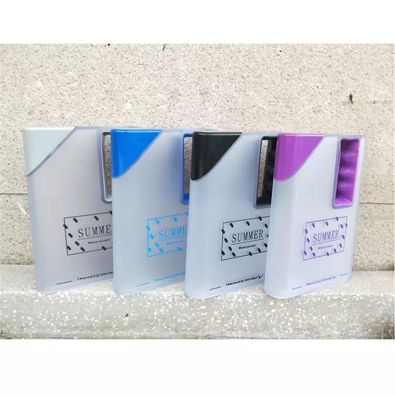 Creative Water Bottle Clear Book Portable Paper Pad Water Bottles Flat Drinks Kettle Square Water Drinking Outdoor Sports Cups