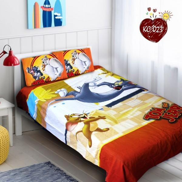 Single Kids Bed Sheet Set - Tom and Jerry