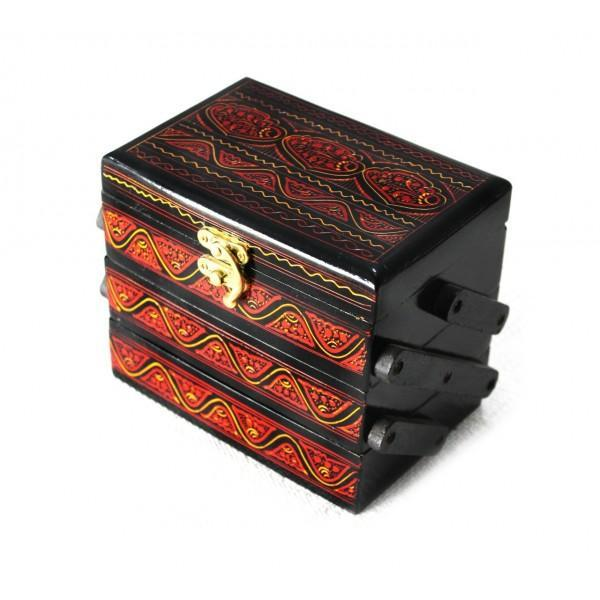 Wooden Hand Made Jewellery Box (3 steps)