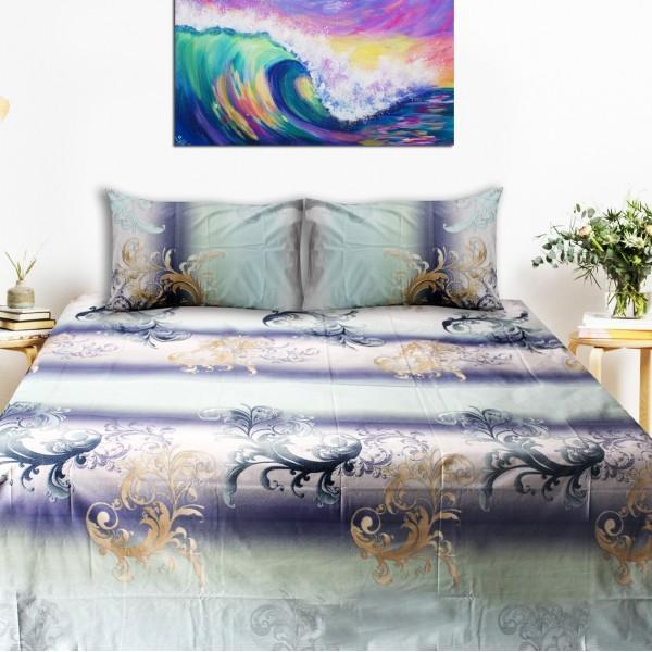 Export Quality Bed Sheet - Multi Color Floral
