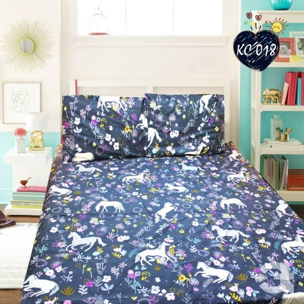 Rich Cotton Double Bed Sheet With 2 Pillow cases