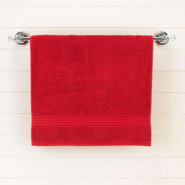 Red Egyptian Cotton Bath Towel - Single
