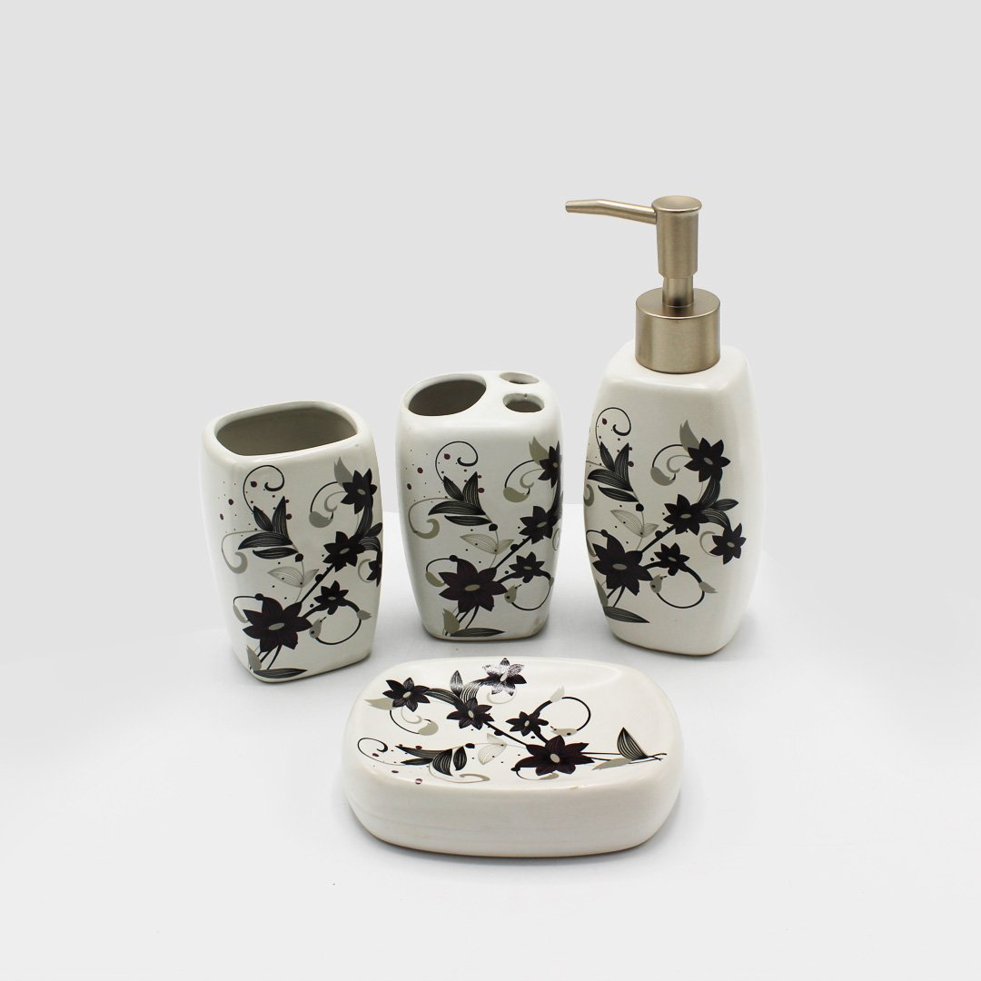 Exquisite Bathroom Set - 4 pc