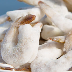 Frozen 21/25 P&D Raw Shrimp - 2 lb. Bag