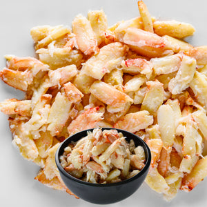 NakedCatch Frozen Jonah Crab Leg Meat - 1 lb.