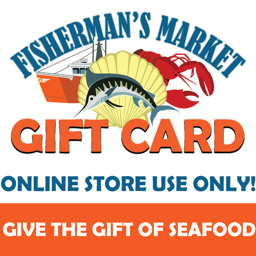 Fisherman's Market Online Store Gift Card (Not For Use In Store)