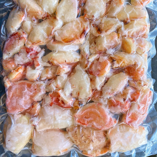 Frozen Jonah Crab Claw Knuckle Meat - 1 Lb