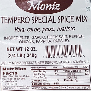 Moniz Tempero Special Spice Mix