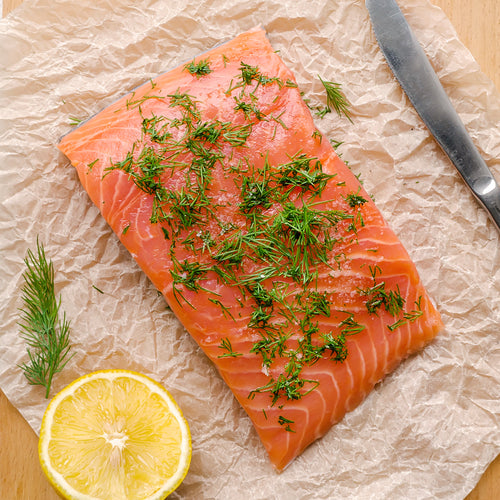 Frozen Norwegian Salmon