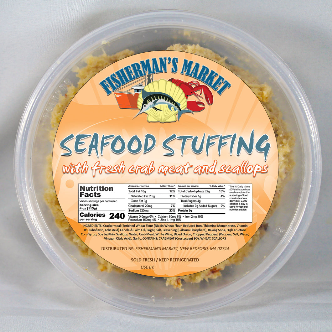 Fisherman's Market Seafood Stuffing - 8 oz.