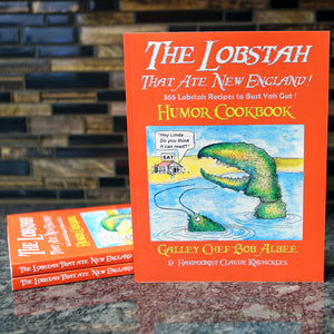 """The Lobstah That Ate New England"" Cookbook"